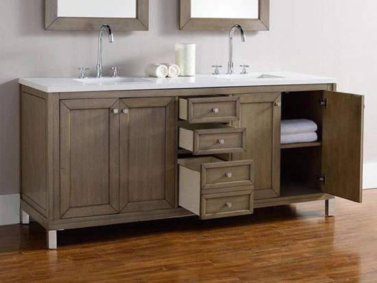more views james martin chicago double 72inch white washed walnut vanity