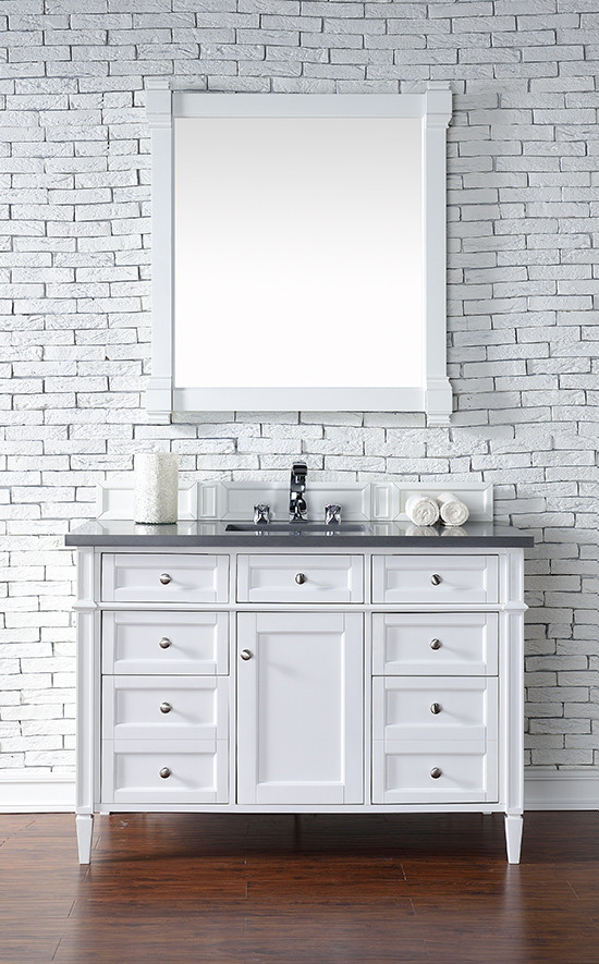 James Martin Brittany Single Inch Transitional Bathroom