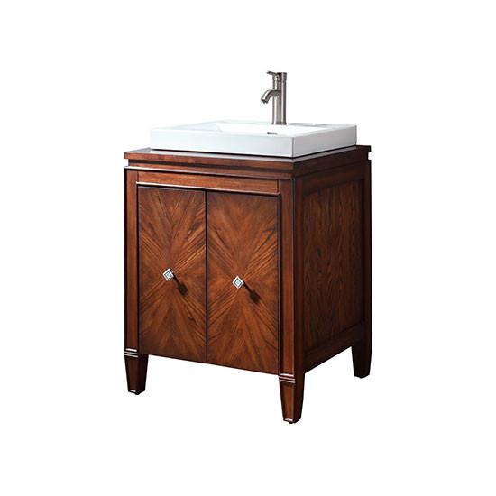 Avanity Brentwood Single 25 Inch Transitional Bathroom