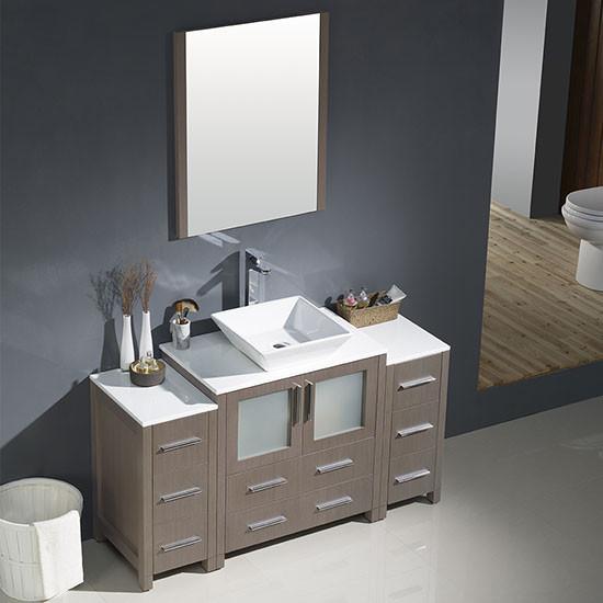 Fresca Torino (single) 54-inch Modern Bathroom Vanity ...