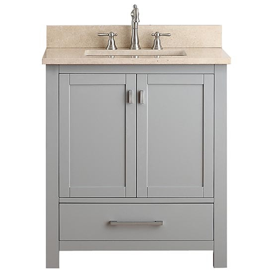 30 offset vanity top inch with vessel sink light single chilled gray cabinet optional