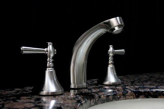 Cesna 1 Brushed Nickel 3 Piece Faucet Set