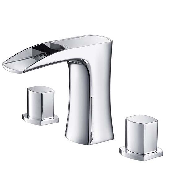 Fresca fortore fft3076ch 8 inch widespread bathroom faucet for Bathroom 8 inch spread faucets