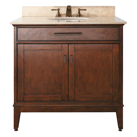 avanity madison single 37 inch traditional bathroom