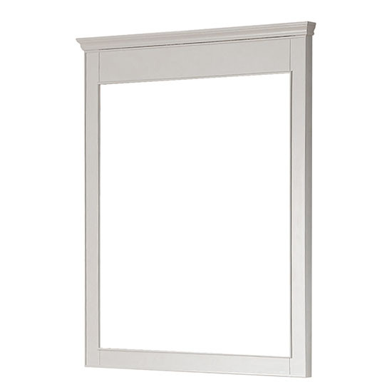 Avanity Windsor 34 Inch Transitional Bathroom Mirror White