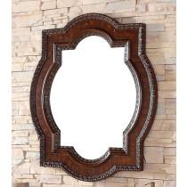 James Martin Castilian 35-Inch Aged Cognac Traditional Bathroom Mirror