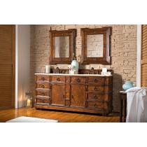 James Martin Regent (double) 70.5-Inch English Burl Traditional Bathroom Vanity