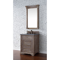 James Martin Savannah (single) 26-Inch Driftwood Vanity Cabinet & Optional Countertops