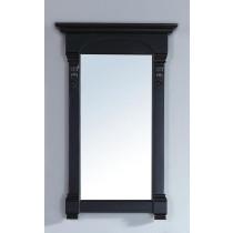 James Martin Brookfield 26-Inch Antique Black Transitional Bathroom Mirror