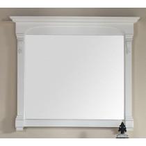 James Martin Brookfield 47.25-Inch Cottage White Transitional Bathroom Mirror