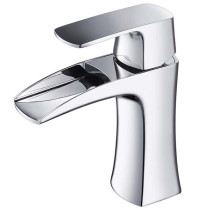 Fresca Fortore FFT3071CH Chrome Single Hole Bathroom Faucet