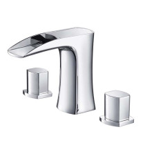 Fresca Fortore FFT3076CH Chrome 8-Inch Widespread Bathroom Faucet