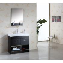 Virtu USA Gloria (single) 35.4-Inch Contemporary Bath Vanity Set