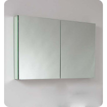 Fresca FMC8010 40-Inch Bathroom Mirrored Medicine Cabinet