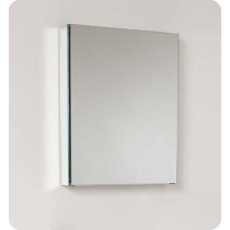Fresca FMC8058 (single) 19.5-Inch Bathroom Mirrored Medicine Cabinet