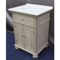 Holbrook (single) 26-Inch Whitewash Transitional Bathroom Vanity