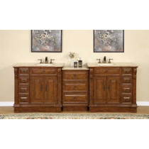 Heather (double) 95-Inch Modular Bathroom Vanity