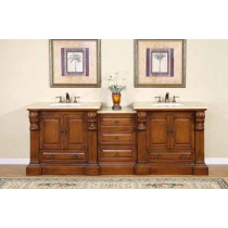 Gloria (double) 95-Inch Modular Bathroom Vanity