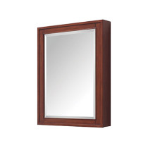 Avanity Madison 24-Inch Tobacco Traditional Bathroom Mirror/Medicine Cabinet