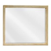 Hardware Resources Compton (single) 44-Inch Buttercream Traditional Bathroom Mirror