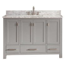Carrara White Marble Top