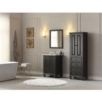 Avanity Thompson (single) 25-Inch Charcoal Glaze Vanity Cabinet & Optional Countertops