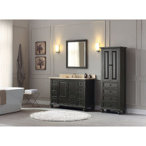 Avanity Thompson (single) 49-Inch Charcoal Glaze Vanity Cabinet & Optional Countertops