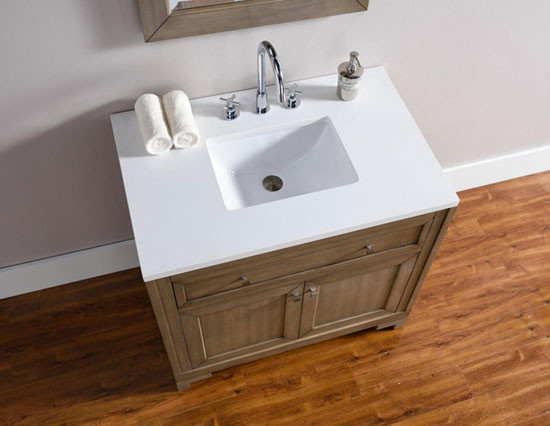 James Martin Chicago Single 36 Inch Transitional
