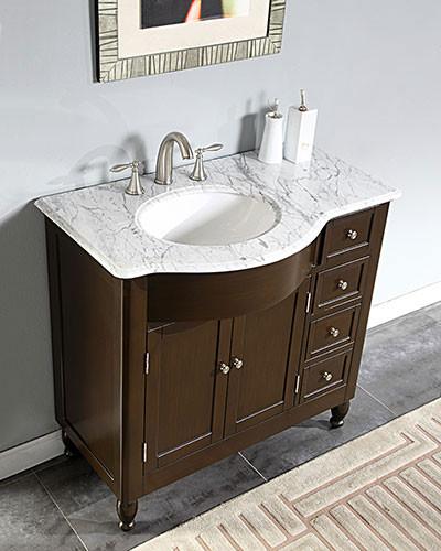 Nona (single) 38-inch Transitional Bathroom Vanity