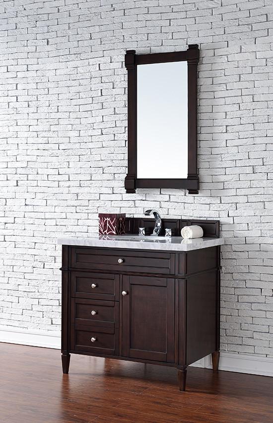 James Martin Brittany (single) 36-Inch Transitional Bathroom ...