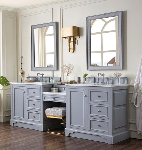 All About Cabinets And Countertops: James Martin De Soto (double) 94-Inch Transitional