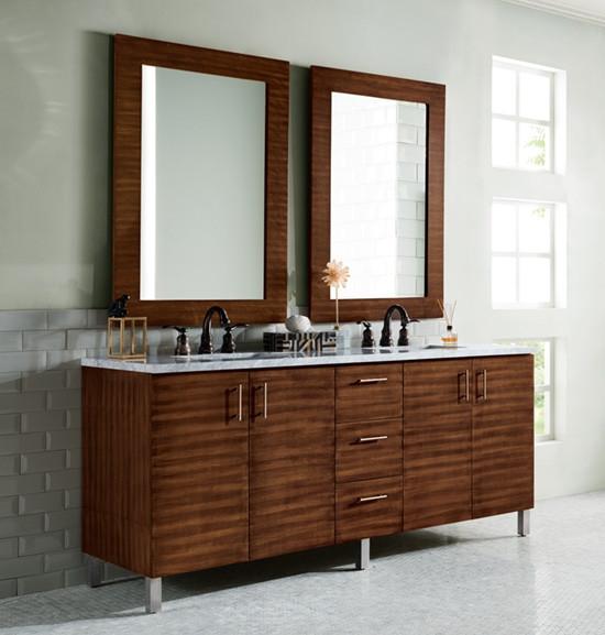 James Martin Metropolitan Double 72 Inch Modern Bathroom