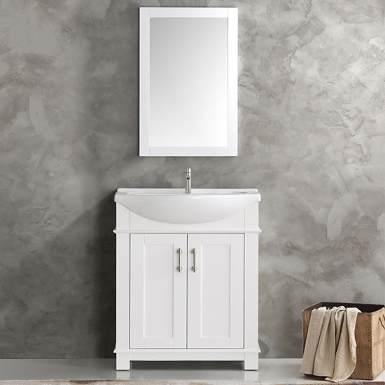 Fresca Hartford (single) 29.5-inch Modern Bathroom Vanity ...