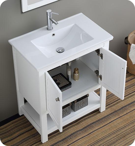 Fresca Manchester (single) 29.5-inch Modern Bathroom ...