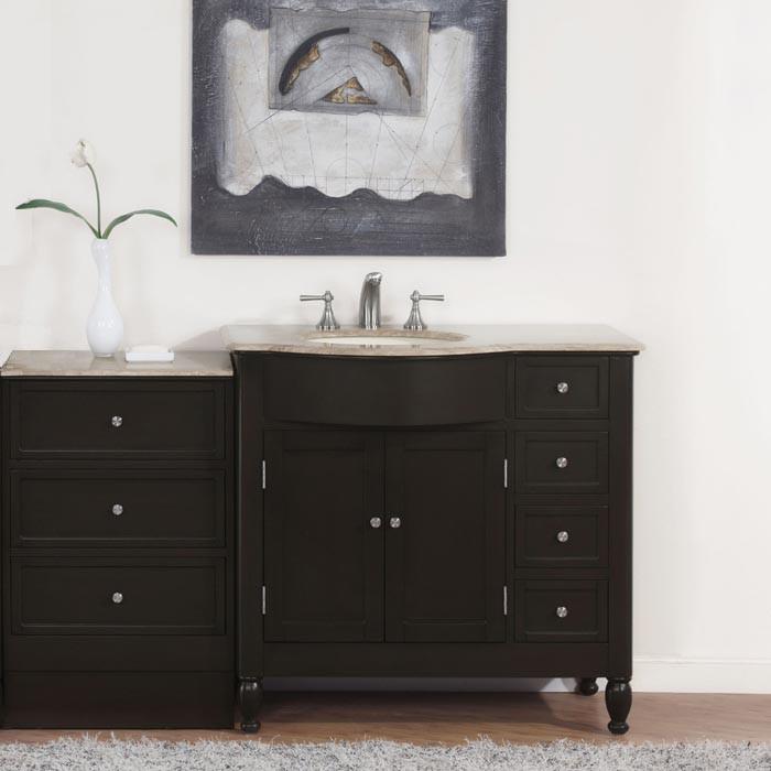 Nona (single) 58-Inch Transitional Modular Bathroom Vanity