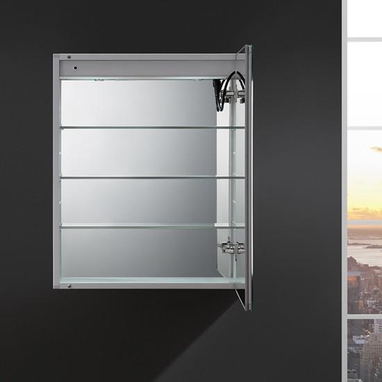 Fresca Tiempo 24x30 Inch Mirrored Medicine Cabinet With