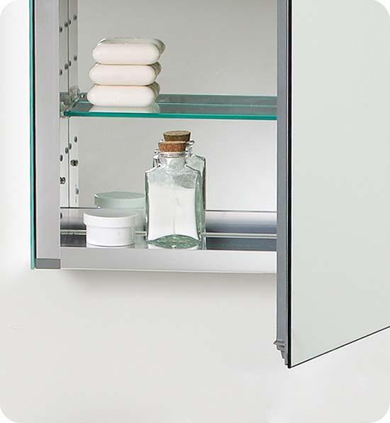 Fresca Fmc8058 19 5 Inch Mirrored Bathroom Medicine