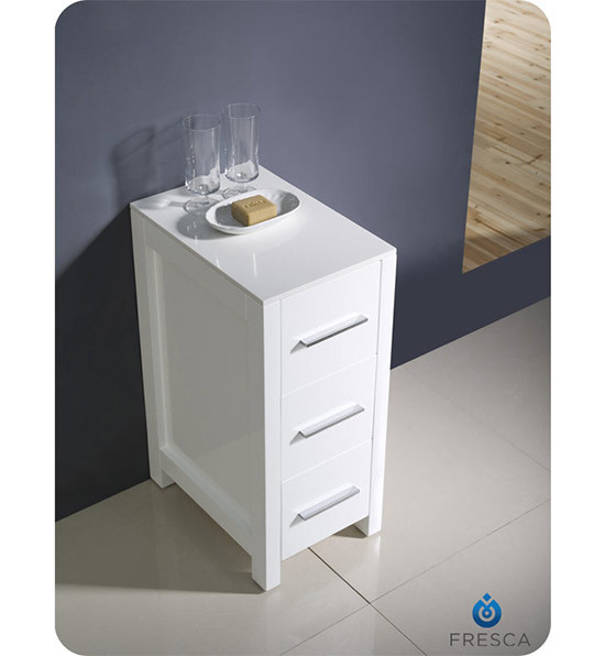 12 inch bathroom cabinet fresca torino 12 quot transitional bathroom linen side cabinet 10023