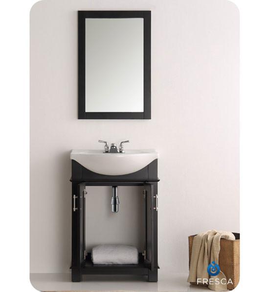 Fresca Hartford (single) 23.6-inch Modern Bathroom Vanity ...