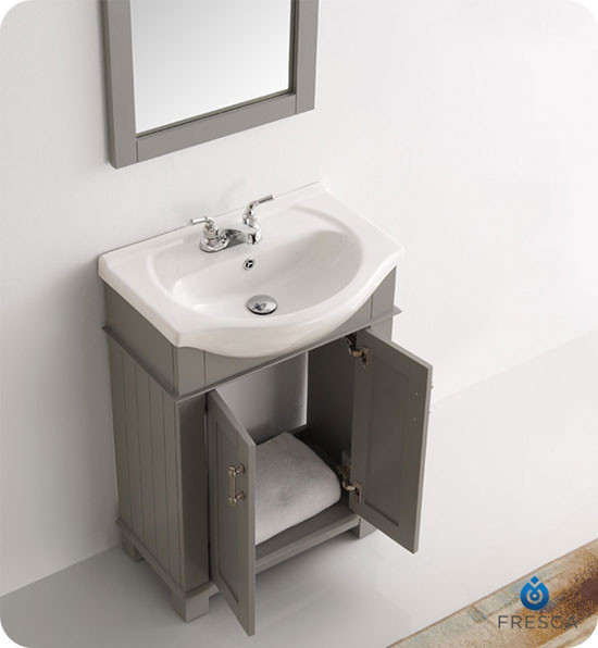 Fresca Hartford (single) 23.6-inch Modern Bathroom Vanity ...