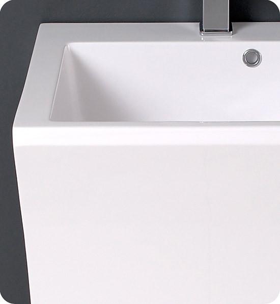 Fresca Quadro Single 22 5 Inch Modern Pedestal Bathroom