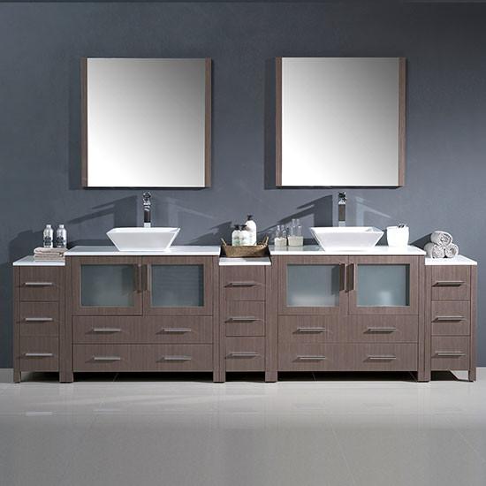 Fresca Torino Double 108 Inch Modern Bathroom Vanity