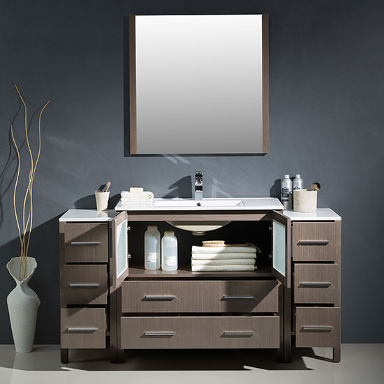 Fresca Torino Single 59 75 Inch Modern Bathroom Vanity