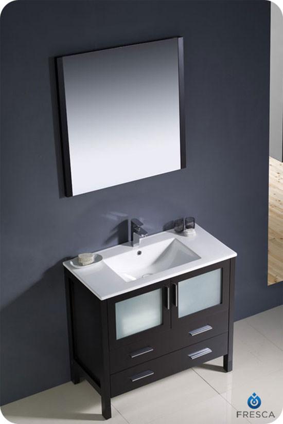 Fresca Torino Single 35 75 Inch Modern Bathroom Vanity
