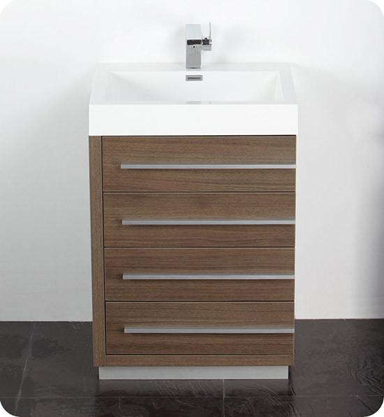 Fresca Livello Single 23 4 Inch Modern Bathroom Vanity