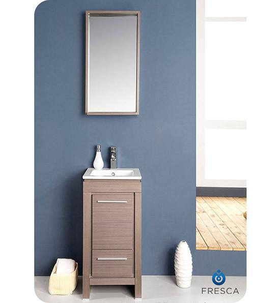 Fresca Allier (single) 15.75-Inch Modern Bathroom Vanity ...