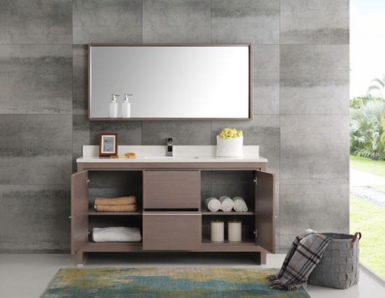 Fresca Allier Single 60 Inch Modern Bathroom Vanity