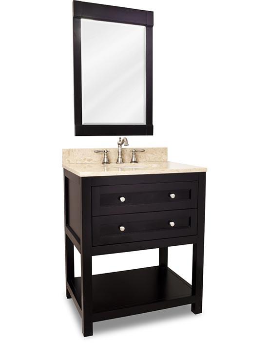 Gerrell 60 Single Bathroom Vanity Set Blue: Hardware Resources Astoria Modern (single) 30-Inch