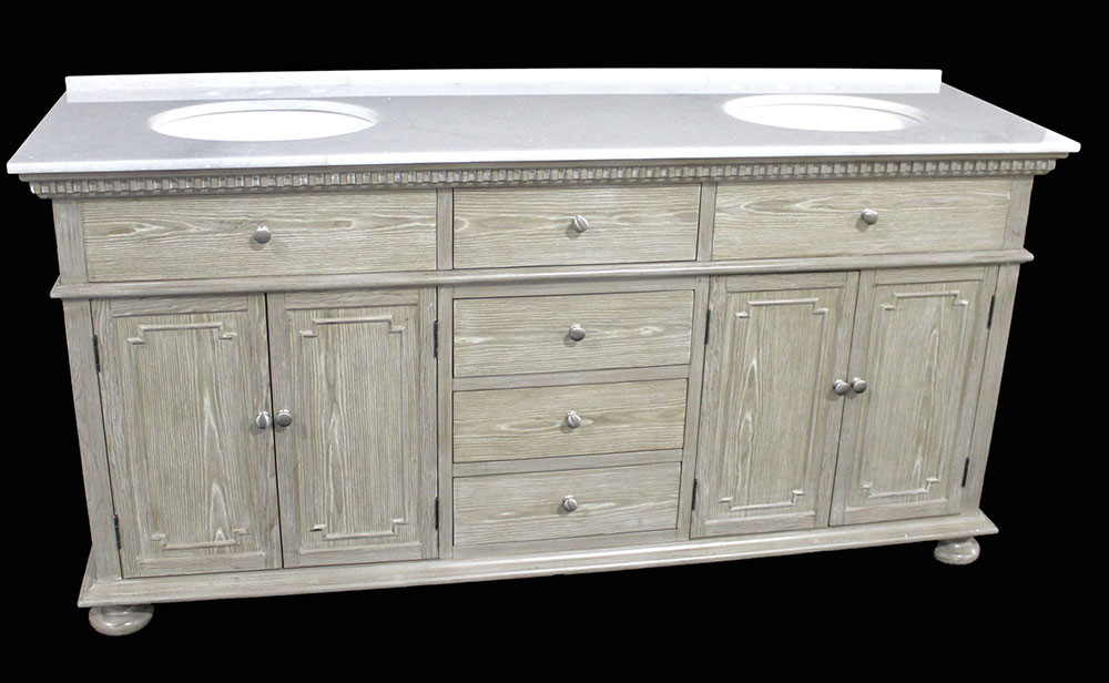 Holbrook (double) 72-Inch Transitional Bathroom Vanity ...