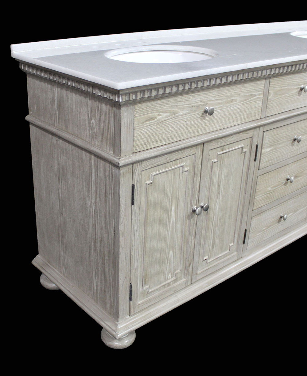 Holbrook Double 72 Inch Transitional Bathroom Vanity
